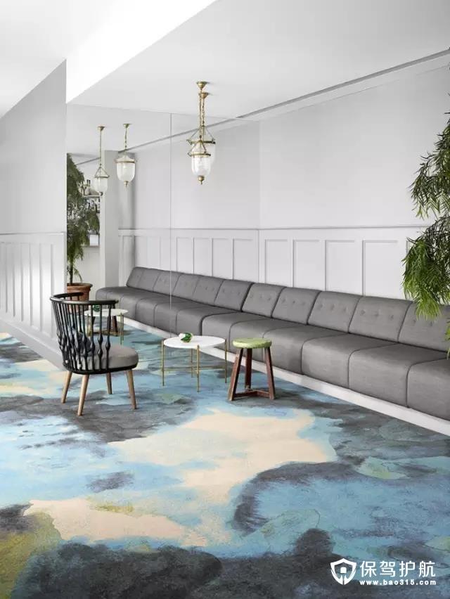【設計】一張地毯,美了整個家!一波家居地毯了解下~