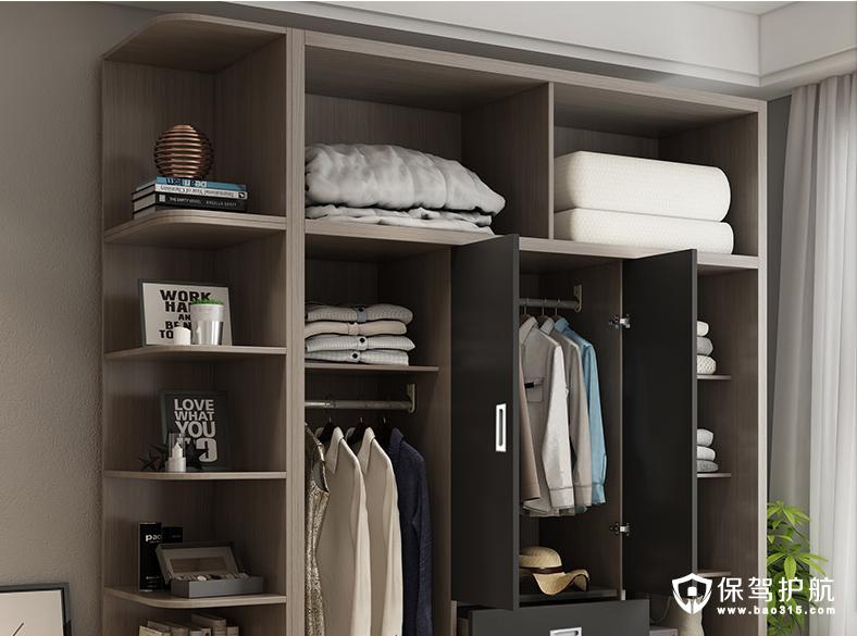 【干货】如何定制一个多功能实用的衣柜?衣柜黄金分区和尺寸,收藏起来备用!