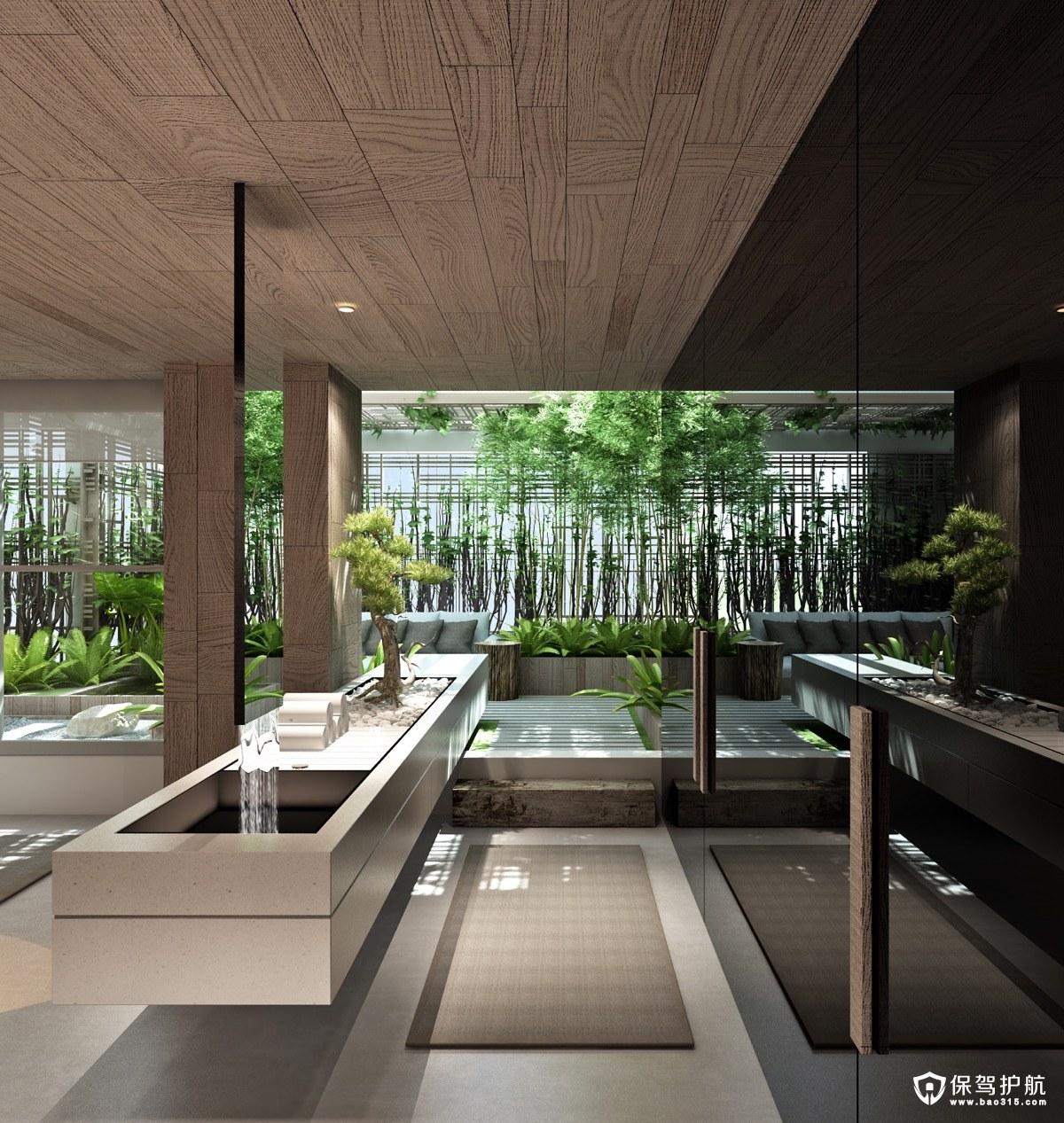 【设计】一波现代浴室梳妆台设计,款款惊艳到你!