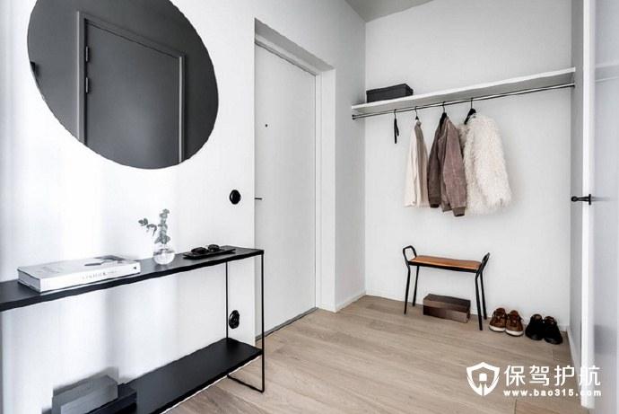 以简为美的斯德哥尔摩70㎡小户型公寓装修