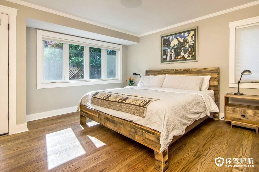 卧室地板应该怎么铺?横铺还是竖铺?地板如何走向?