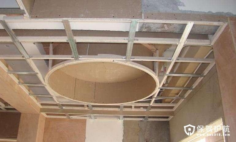 客厅吊顶龙骨怎么安装?