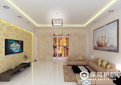 客厅怎么装石膏线好看?
