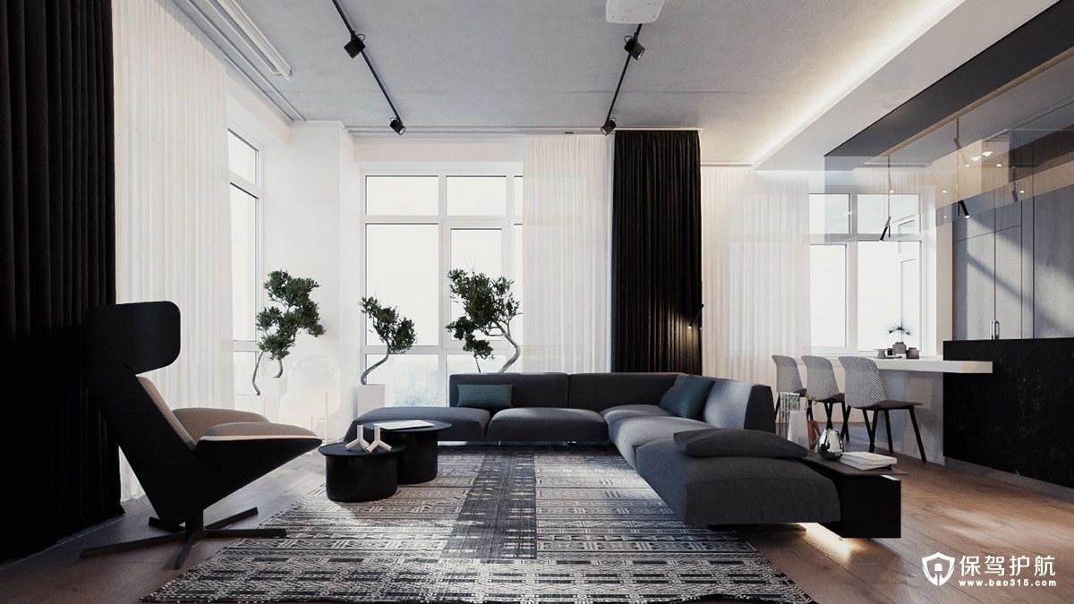 现代风格装修 2套现代风格装修案例,无与伦比的现代化!