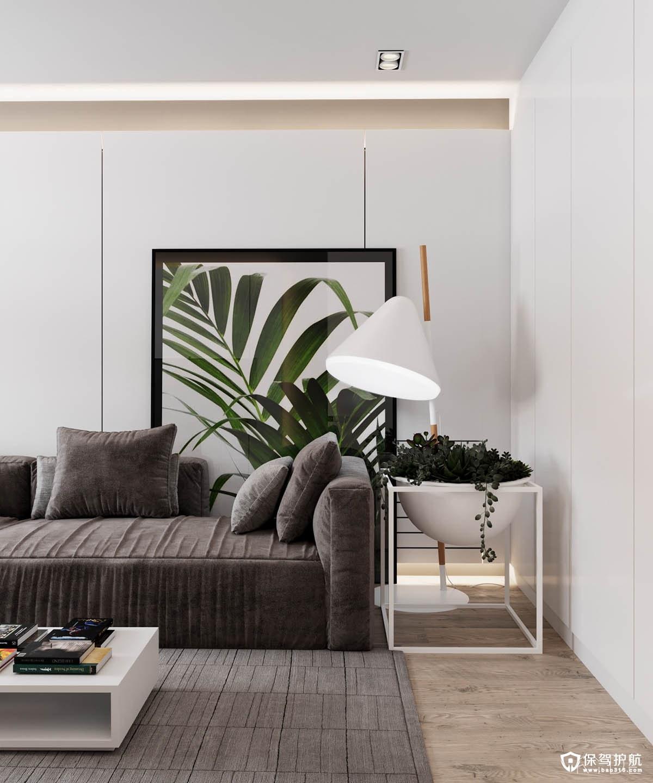 北欧风格装修 3间70平方米北欧风格装修案例,独特的设计元素放大空间!(上)