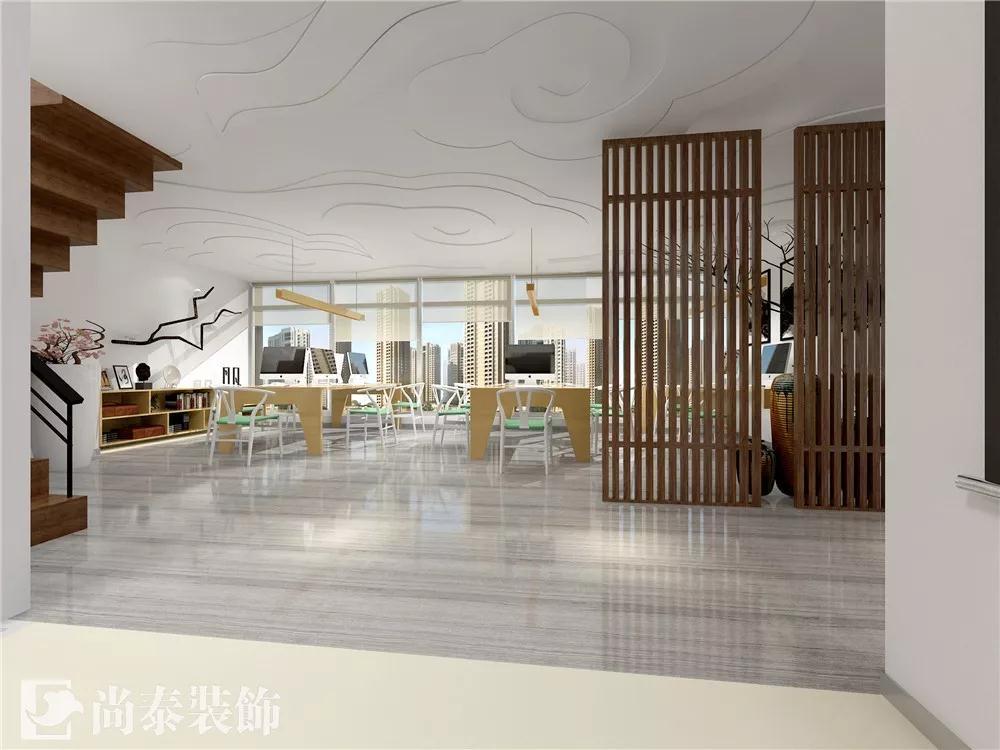 探寻简约中式风格办公室设计