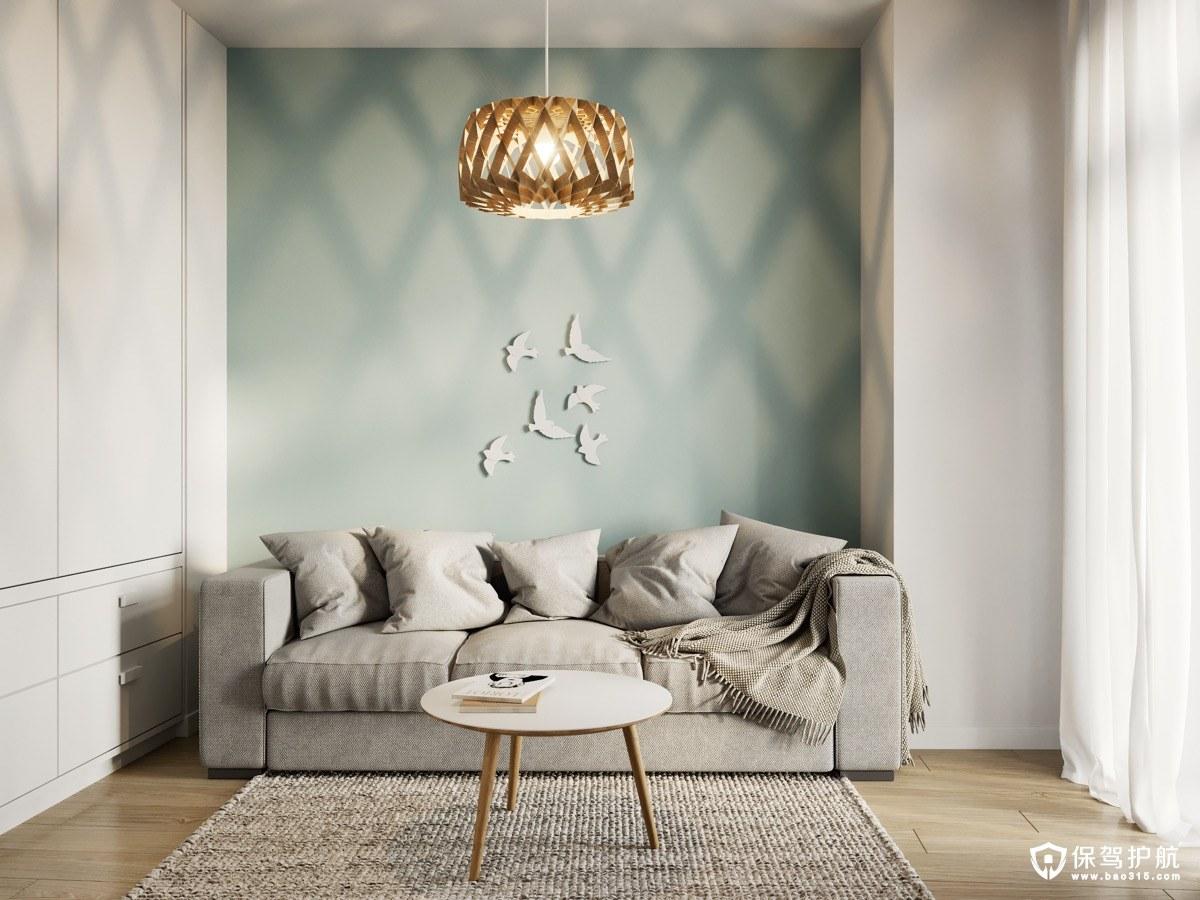 北欧风格装修 3间70平方米北欧风格装修案例,独特的设计元素放大空间!(下)