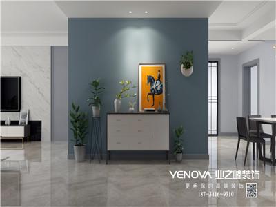 公元伍号258平米北欧风格效果图案例——太原业之峰装饰
