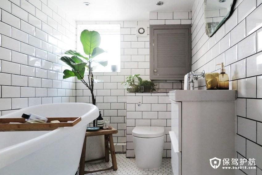 卫生间改造 卫生间改造为北欧风格 改造前后对比图
