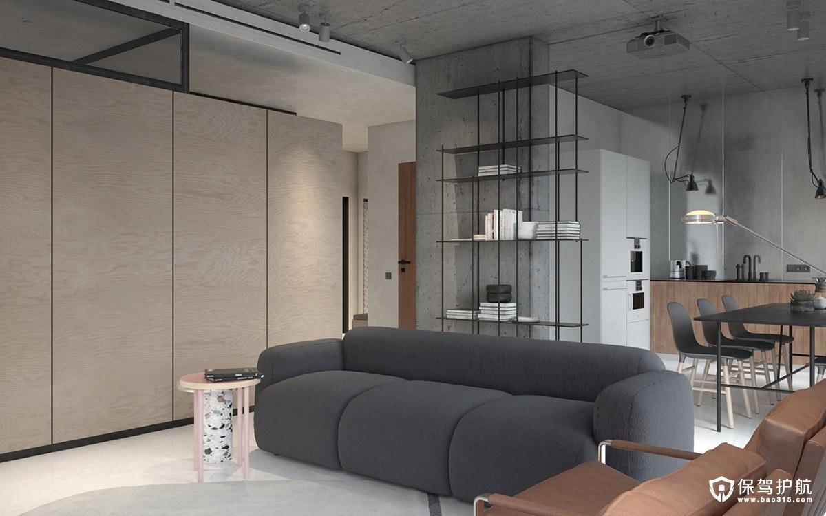 单身公寓装修 经典时尚的单身公寓装修案例,住了还会单身?(二)