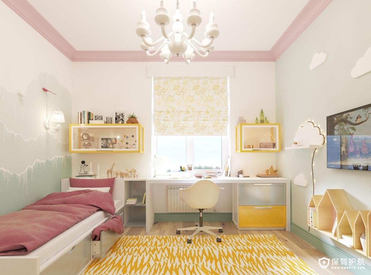 儿童房装修 7间儿童房装修案例,帮助你为小公主设计一间漂亮的房间!(下)
