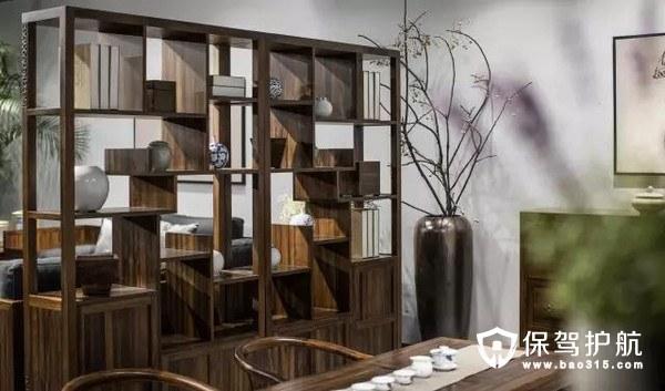 客厅餐厅博古架隔断设计,客厅餐厅隔断效果图