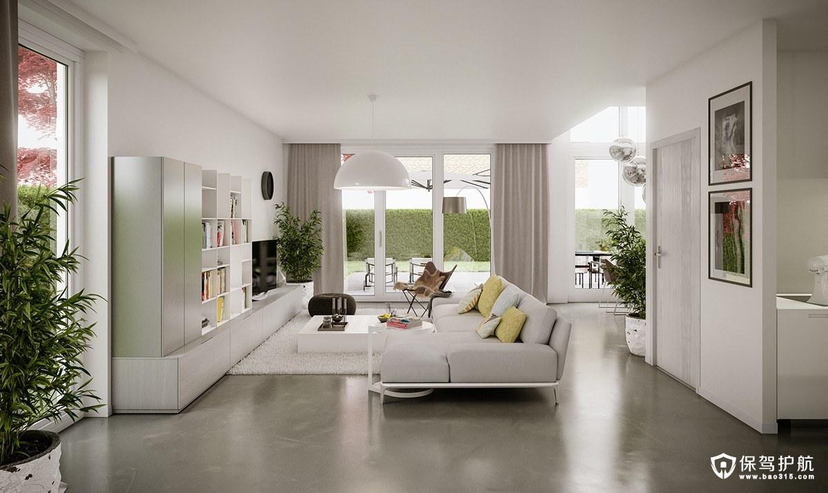 客廳裝修  6間現代趨勢的客廳裝修案例,給你靈感!(上)