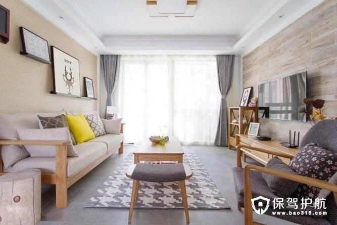 日式客厅装修风格,无法不爱的文艺清新小家