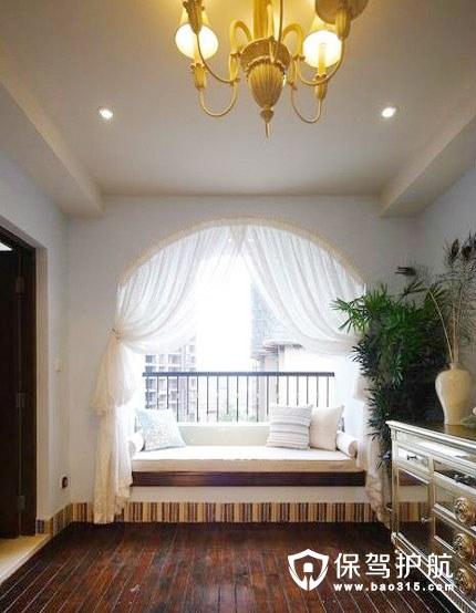 客厅飘窗设计技巧,客厅有飘窗怎么装修?