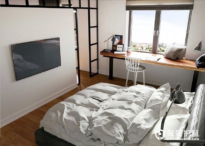 简约客厅装修风格,把原有客厅的墙体拆除,让空间更通透!