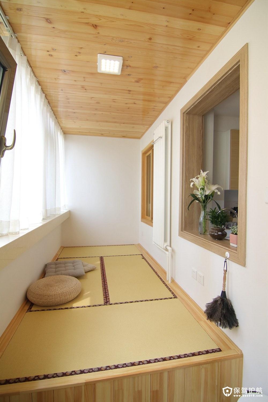 客厅阳台榻榻米设计,轻松打造放松休闲小阳台