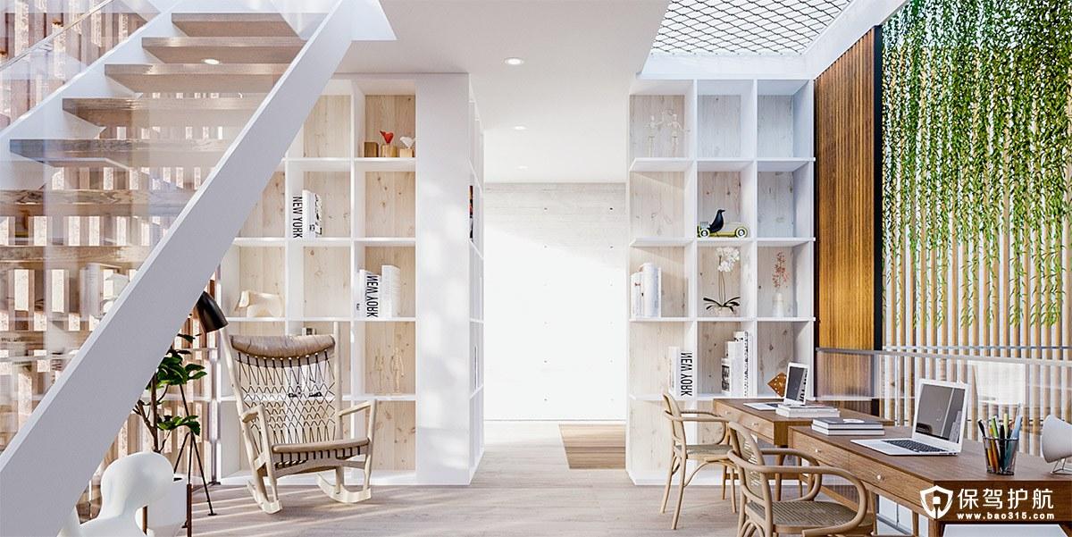 【书房装修】15个现代书房装修设计理念,带给你灵感!(下)