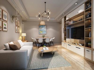滨海公寓北欧风格