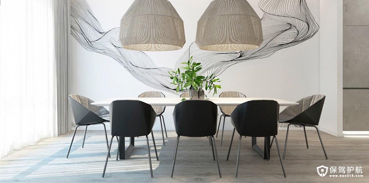 餐厅设计 20个极简主义风格的餐厅装修,让你恨不得复制黏贴!(下)