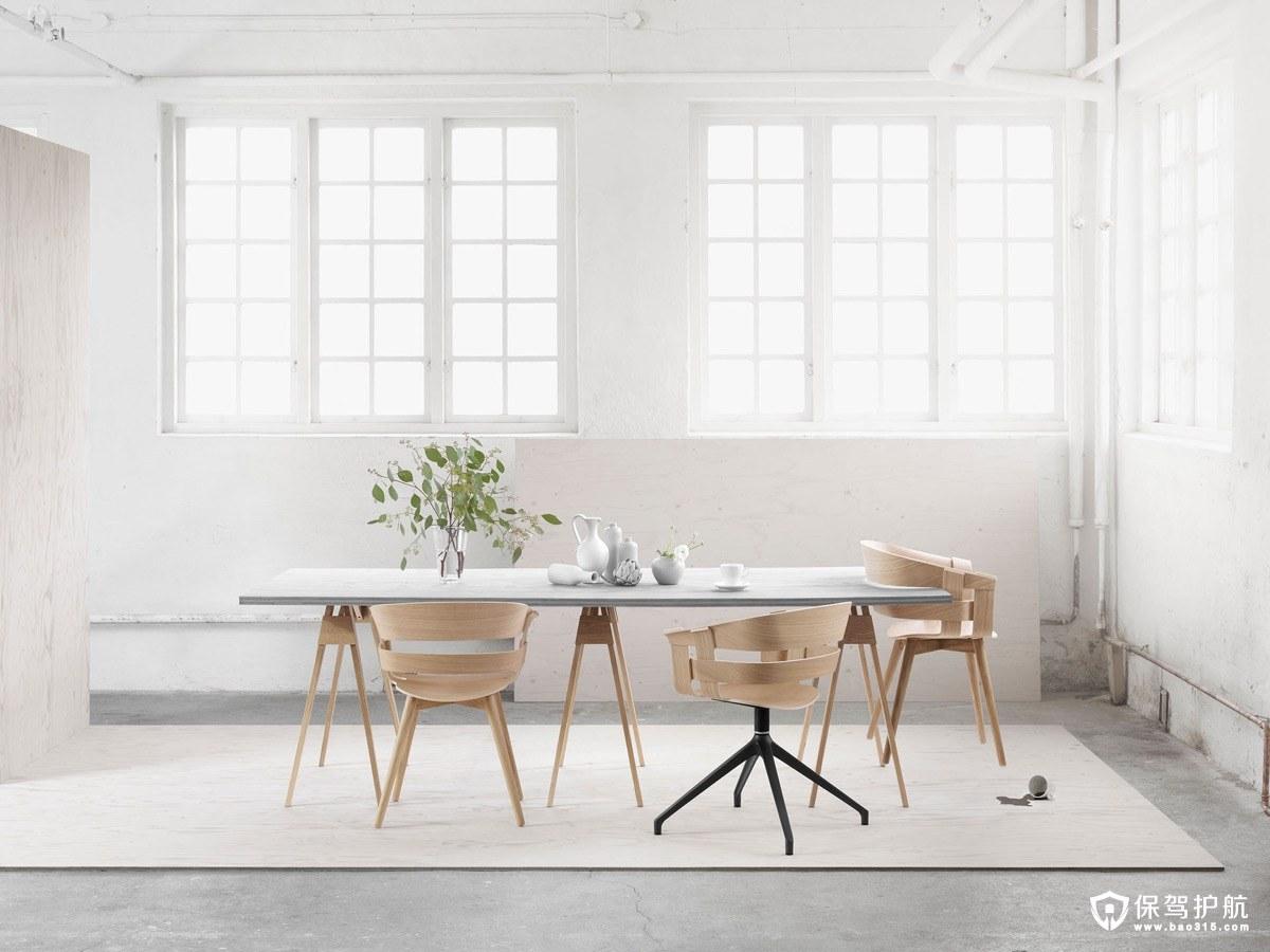 餐厅设计 20个极简主义风格的餐厅装修,让你恨不得复制黏贴!(上)