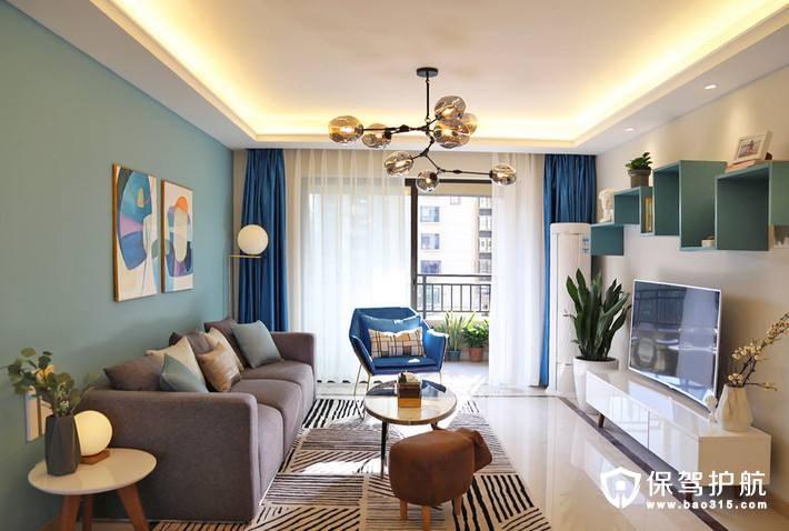 小客厅装饰技巧!怎样使小户型装修看起来更大!
