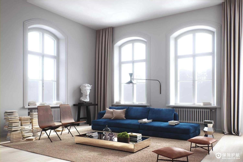 客厅涂料颜色搭配技巧,摆脱老土的配色