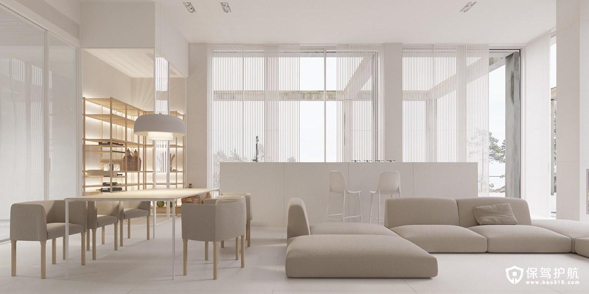 客廳裝修 20個簡約風格客廳裝修,哪個深得你心?(上)