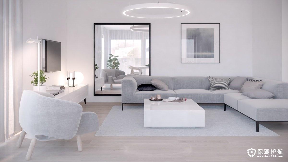 客厅装修 20个简约风格客厅装修,哪个深得你心?(下)