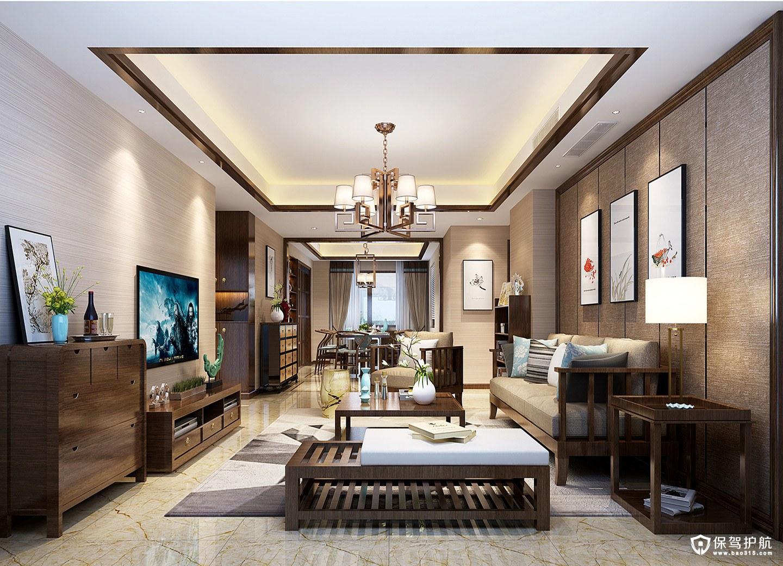 新中式装修客厅灯尺寸,客厅灯多大尺寸合适