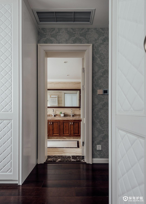 卫生间门装修禁忌,切记不可将淋浴龙头对着卫生间门