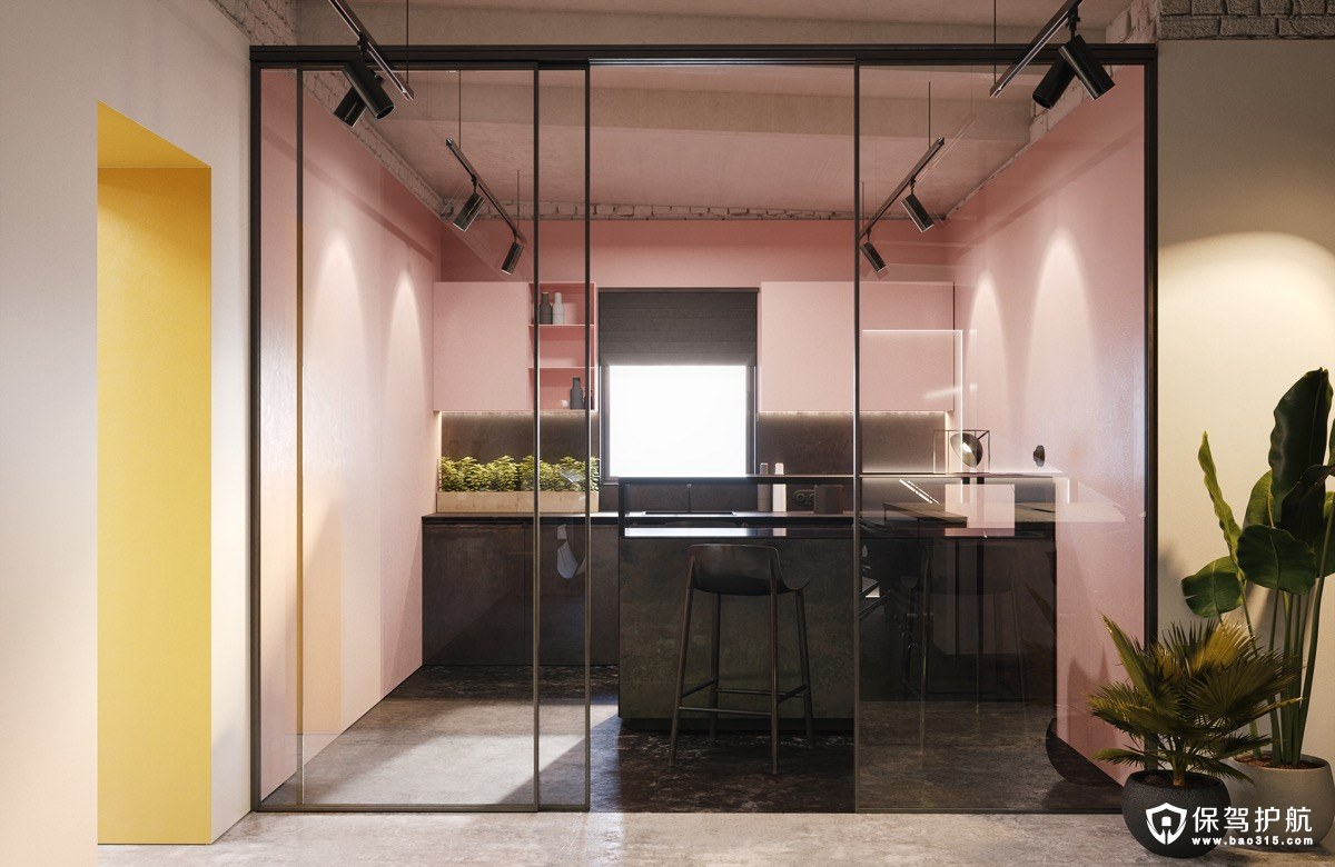 【厨房设计】这样的厨房设计,直男都能掰弯...(一)