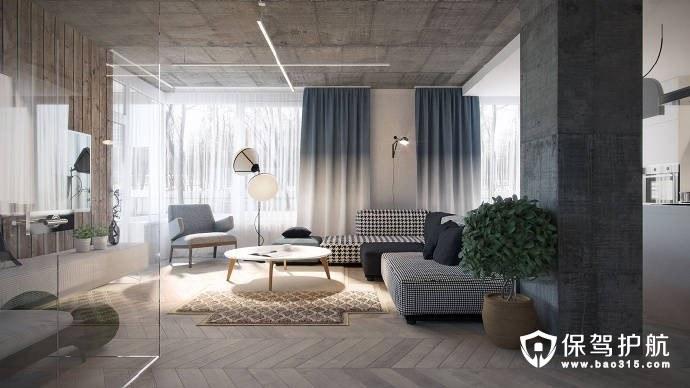 日式客厅装修设计,文艺青年的舒适专属