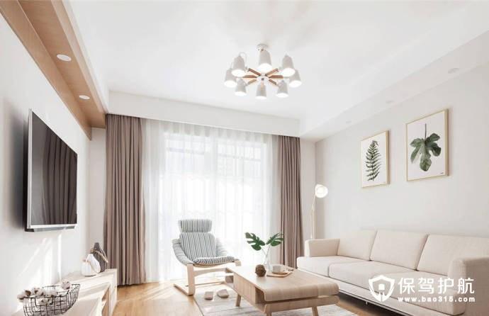 三室一厅北欧风格,用简单的设计打动人心