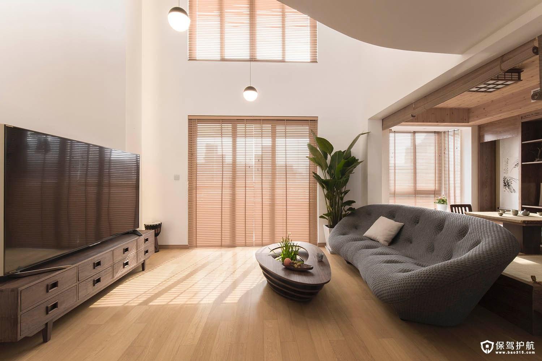 日式客厅设计,如何打造日剧中的清新日式客厅?