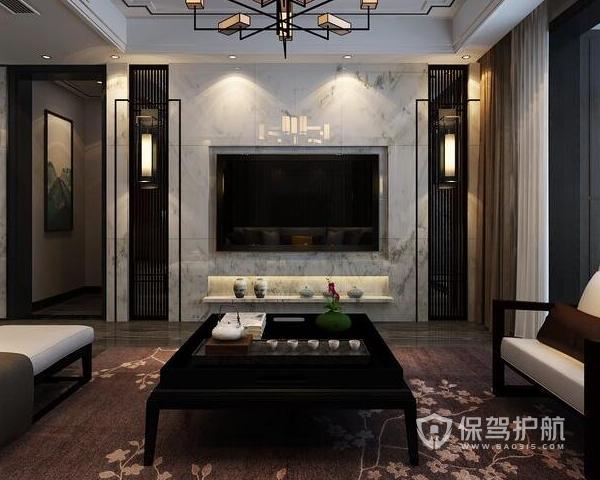 新中式电视背景墙好不好 新中式电视背景墙装修注意事项