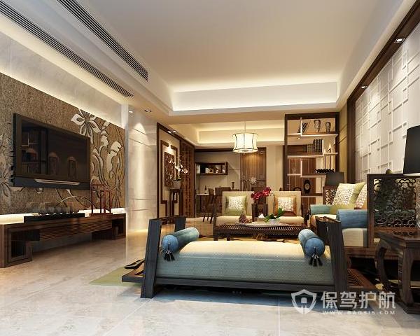 新中式背景墙有哪些特点 新中式背景墙设计方案