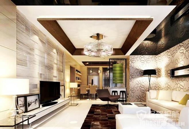 装修房子客厅吊顶样式 5种常见的客厅吊顶样式,了解下!