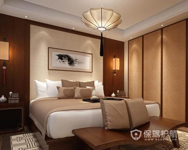 中式卧室背景墙如何装修 中式卧室背景墙装修技巧