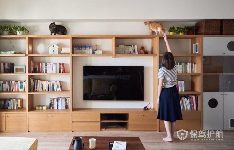 日式风格装修,同时也是猫之家!