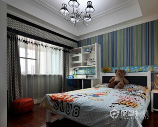 最新的欧式卧室窗帘装修效果图