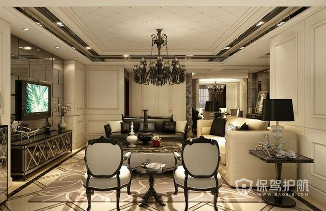 客厅吊顶方案 3种客厅吊顶方案,任你选!