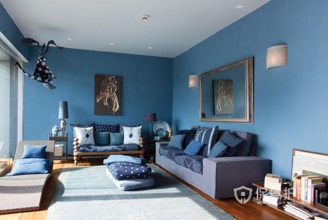 客厅适合什么颜色的漆?客厅墙漆什么颜色好看?