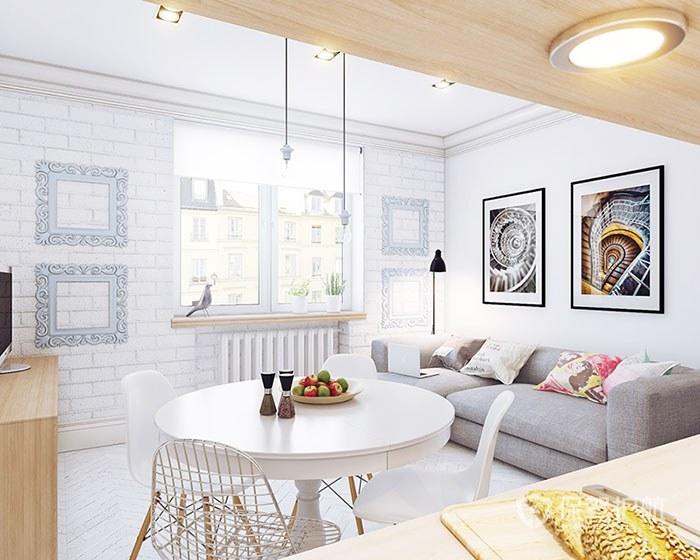客厅一般刷什么颜色漆,客厅墙漆什么颜色好看?