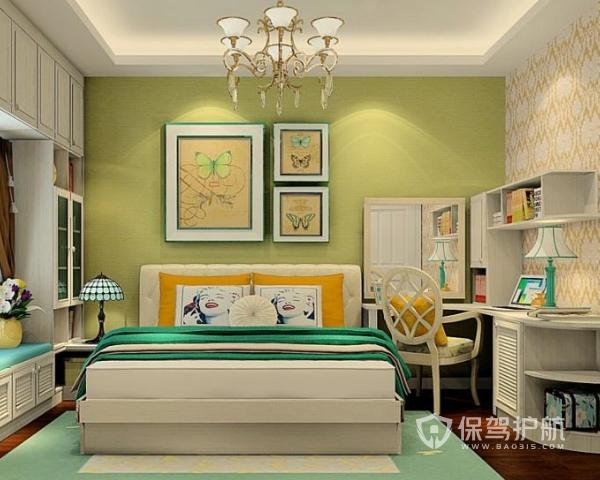 卧室墙壁如何装修 卧室墙壁颜色搭配方法
