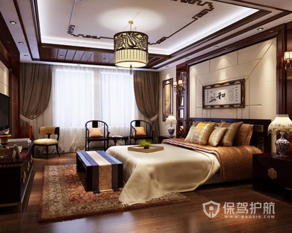 新中式卧室如何装修 不一样的新中式风格卧室设计效果图