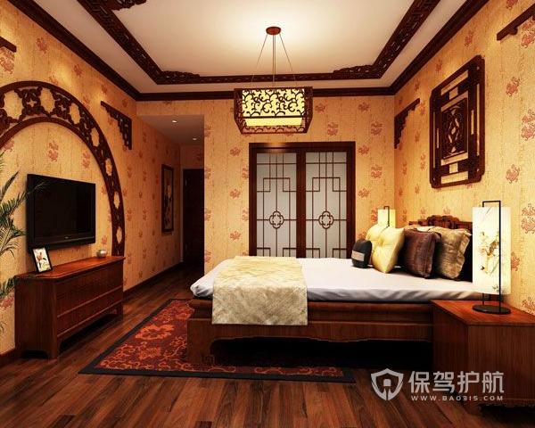 中式卧室吊顶如何设计 中式卧室吊顶装修流程