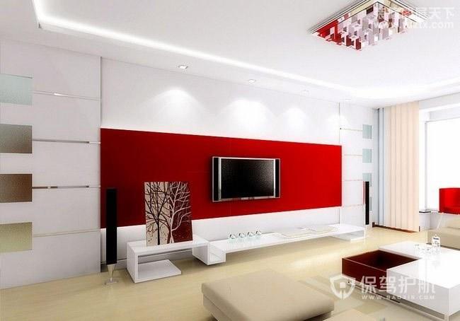 客厅电视墙石膏线造型有哪些?