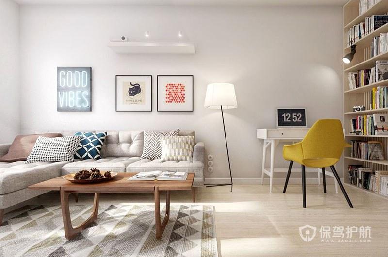 宜家风格客厅怎么装,打造简约宜家风格竟如此简单!
