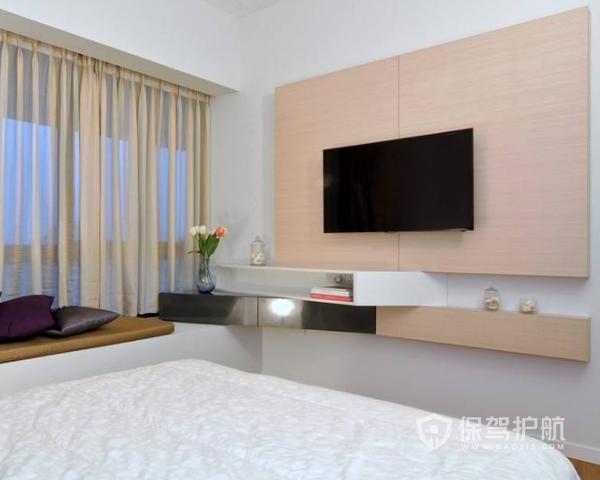 卧室电视背景墙如何装修 卧室电视背景墙装修注意事项